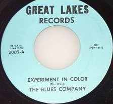 Blues Company - Experiment in Color (Great Lakes 3002-A)