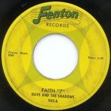 Dave and the Shadows - Faith 7 (Fenton 942-A)