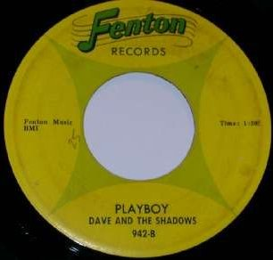 Dave and the Shadows - Playboy (Fenton 942-B)