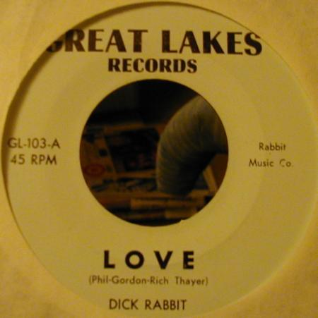 Dick Rabbit - Love (Great Lakes 103-A)