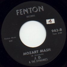 JD and the Dynamics - Mozart Mash (Fenton 943-B)