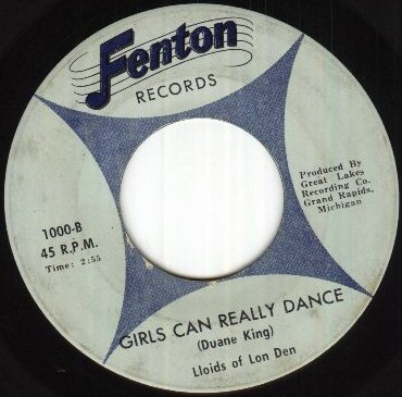 Lloids of Lon Den - Girls Can Really Dance (Fenton 1000-B)