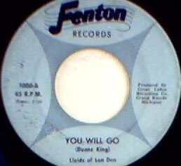 Lloids of Lon Den - You Will Go (Fenton 1000-A)
