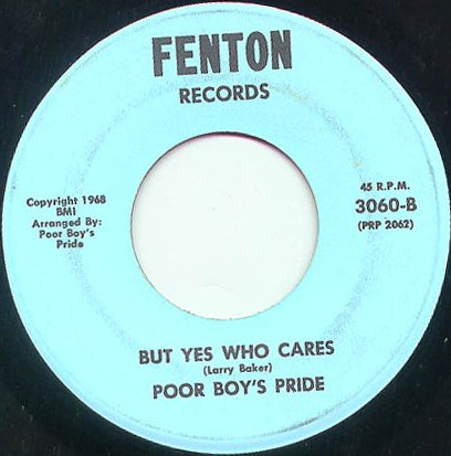 Poor Boys Pride - But Yes Who Cares (Fenton 3060-B)