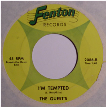 Quests - I'm Tempted (Fenton 2086-B)